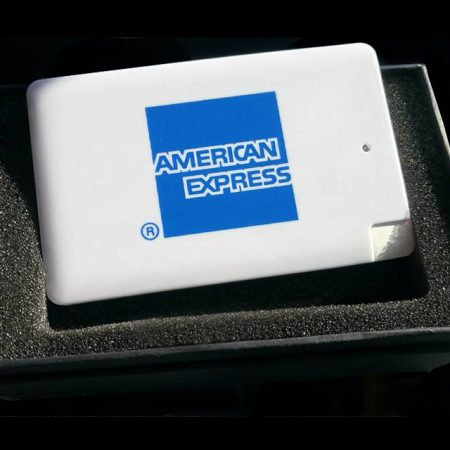Power Bank American Express - Tampographie
