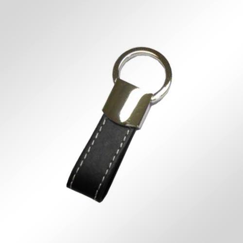 NS0363-porte-cles-simili-cuir-noir+metal+-coffret