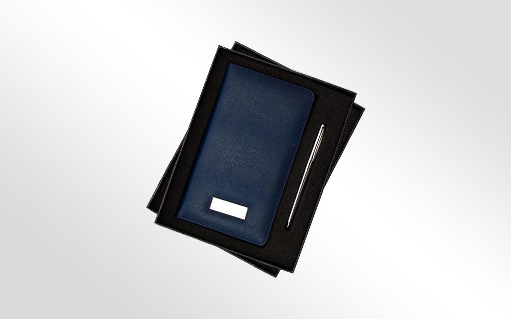 COFFRET NOTE BOOK + STYLO ( 03 C ) - K30