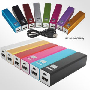 POWER BANK 2600 mAh WITH BOX ( 02 C ) - MP102POWER BANK 2600 mAh WITH BOX ( 02 C ) - MP102