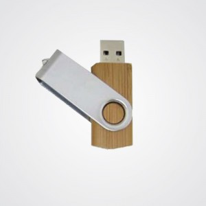 USB FLASH DRIVER 8GB EN BOIS WITH CARTON BOX - F005B