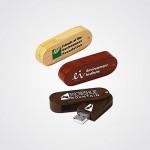 USB FLASH DRIVER 8GB EN BOIS WITH CARTON BOX - F176B