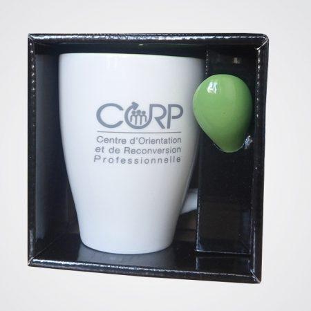 Personnalisation de Mug de la Corp - Tampographie